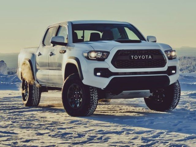 The Top Of Line Models Will Feature Heated Front Seats With A Black Leather Trim Signature Trd Pro Logo Engraved On Headrests