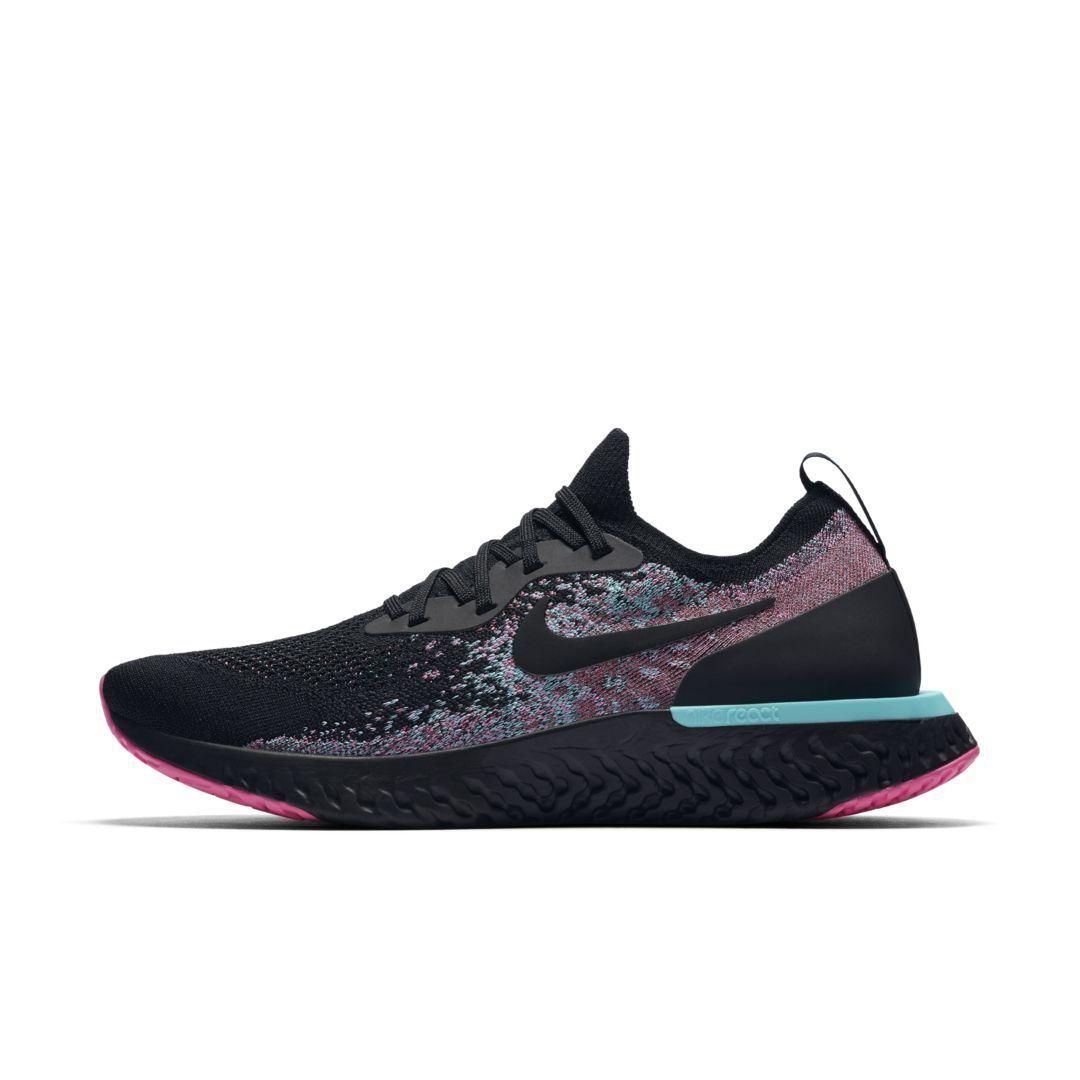 detailed look 8d538 207af Nike Epic React Flyknit Men s Running Shoe Size 7 (Black)