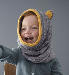 Modèle snood cagoule enfant   tricots   Cagoule enfant, Tricot et ... fbcb54a7475