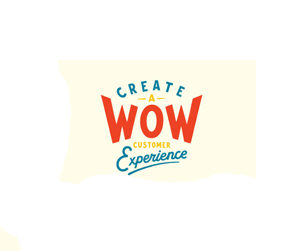 Create A Wow Customer Experience Logo