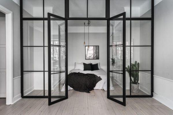 Chambre avec verrière d\'intérieur   Chambre design ...