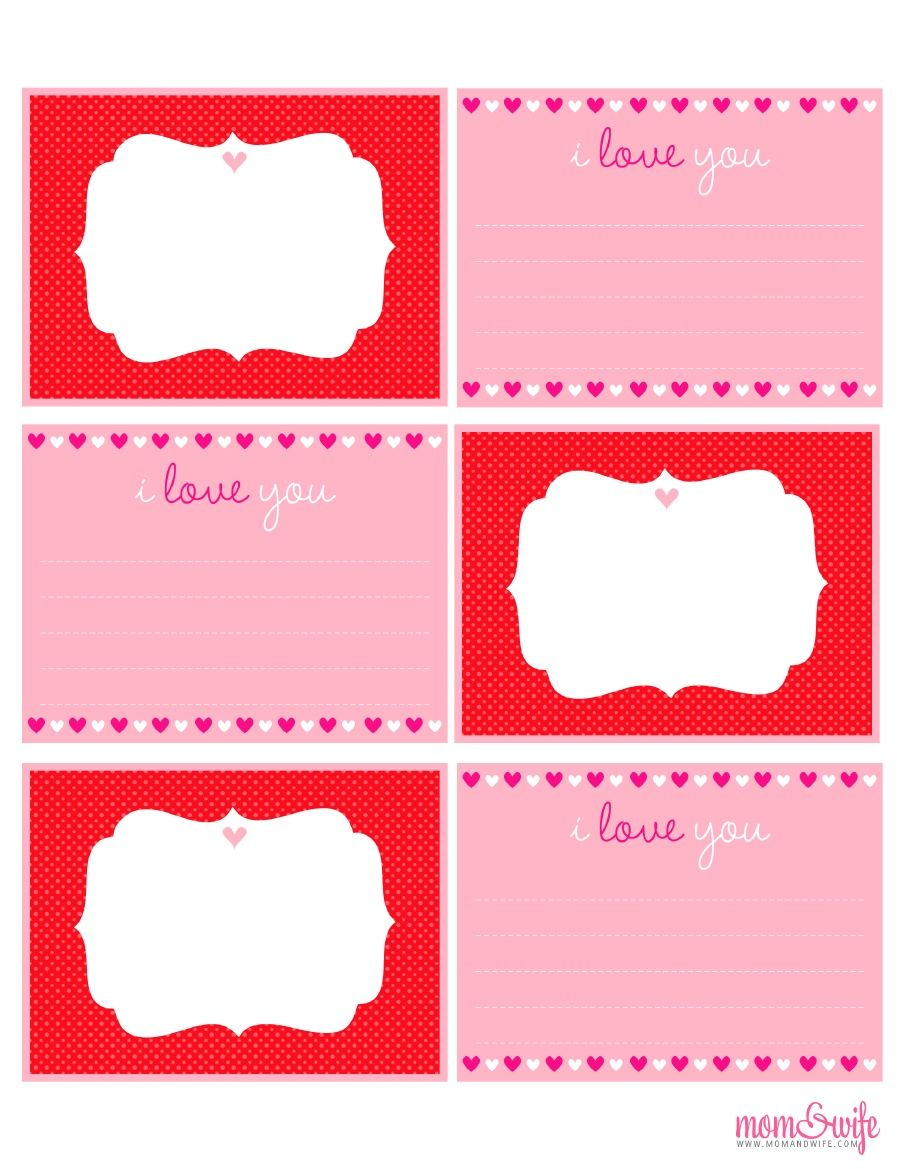 Note Cards Printable Valentines printables, Love coupons