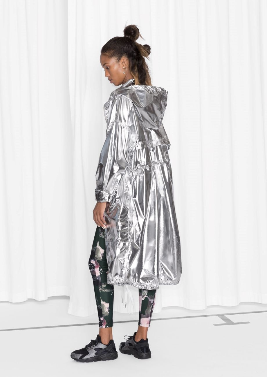 0165d296210e1 Other Stories   Silver Parka. & Other Stories   Silver Parka All clothing  ...