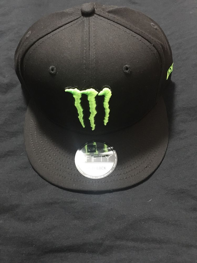 b656a9b0d4e277 Monster Energy New Era 9Fifty Athlete Snapback Hat Cap NEW #fashion  #clothing #shoes #accessories #mensaccessories #hats (ebay link)