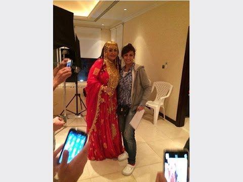 شاهد صور الفنانة الإماراتية بدرية أحمد عندما ارتدت القفطان المغربي كيف Fashion Prom Dresses Formal Dresses
