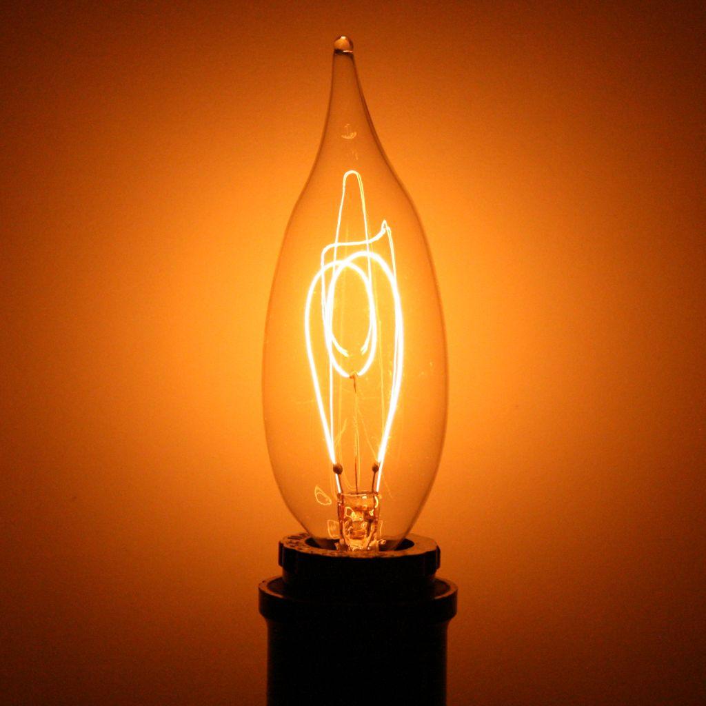 Ferrowatt 19035 15 Watt 120 Volt C10 Decora Filament Candelabra Screw Base Clear Ferrowatt F15 Decora 15watt E12 With Images Antique Light Bulbs Edison Light Bulbs Light Bulb