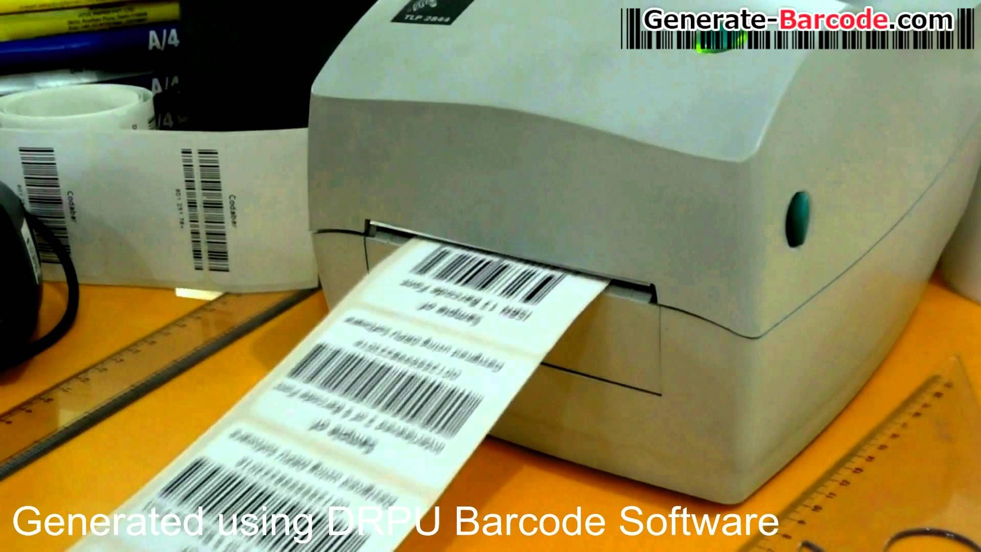 Learn to design barcode labels for books using ISBN