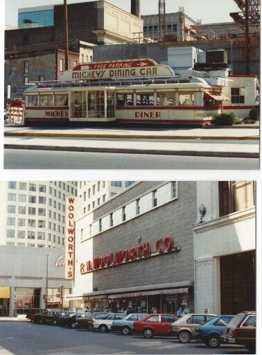 Mickeys Diner Woolworth Downtown St Paul Mn In 2019