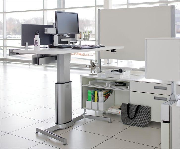 haworth desk Googlehaku Office furniture Pinterest Desks