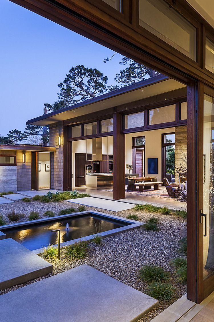 Thayer residence breezy santa barbara home sheds spotlight on a