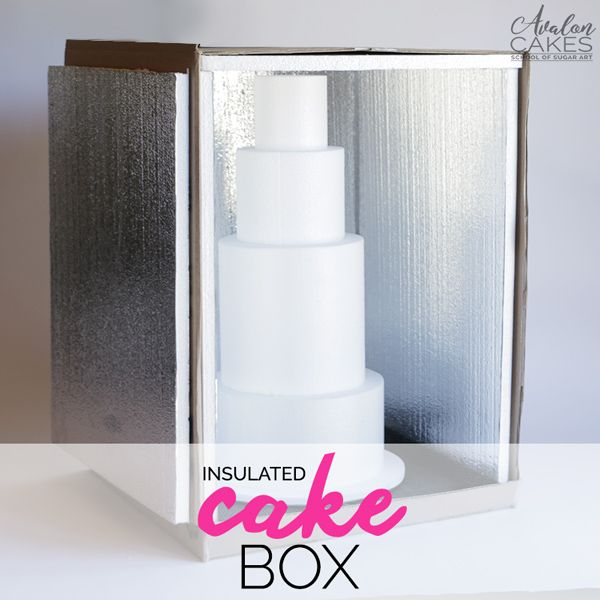 A quick and easy way on how to make an insulated cake delivery box for all your cake needs! This easy and inexpensive DIY is the perfect solution.