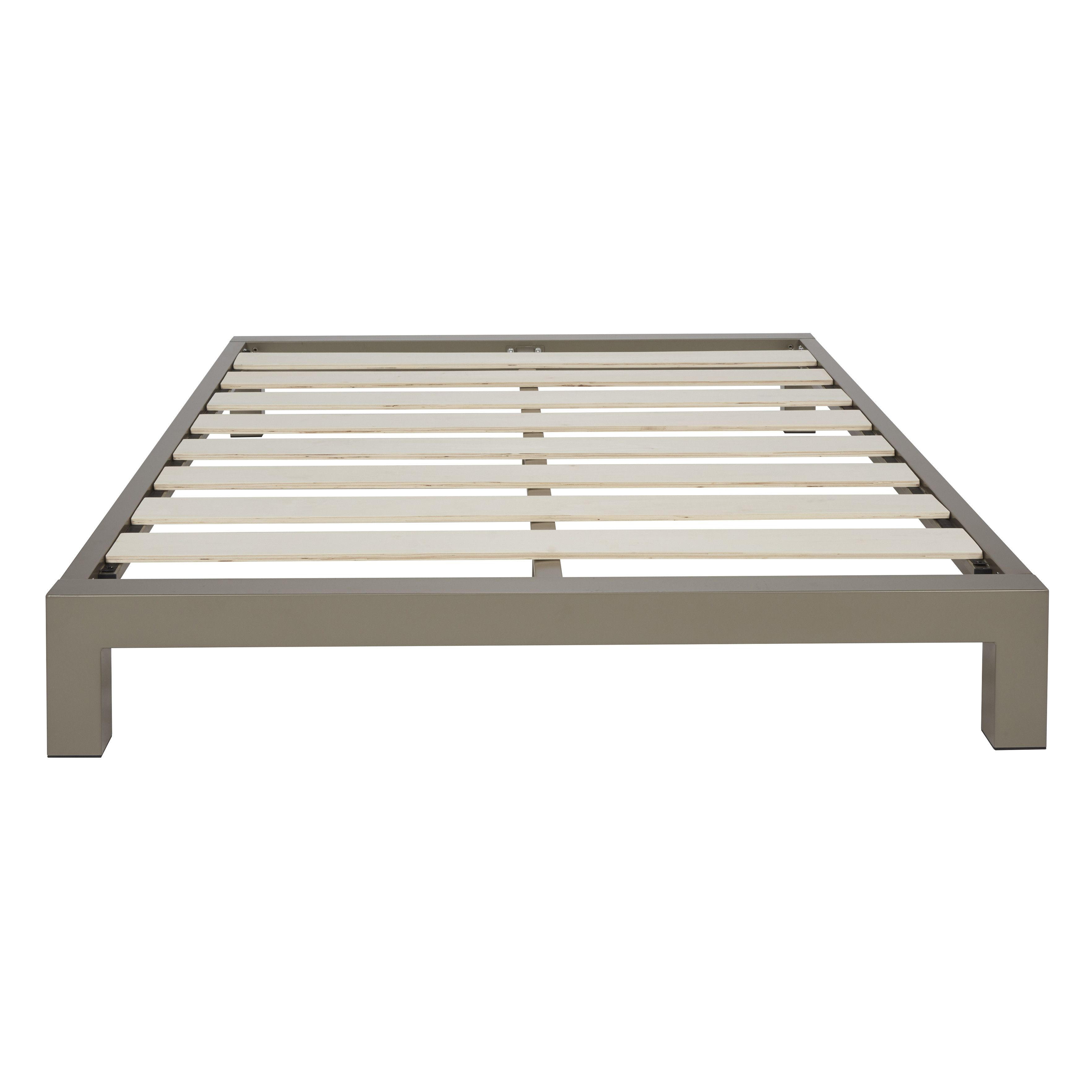 In Style Furnishings Stella Platform Bed Metal Platform Bed