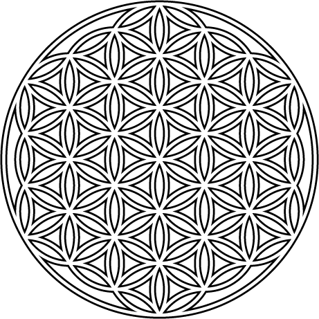 First Glass Design Flower Of Life Flower Of Life Pattern Geometric Mandala Tattoo Flower Of Life Tattoo
