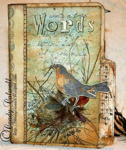 A Vintage Journey: Challenge 2 - Say It With Words