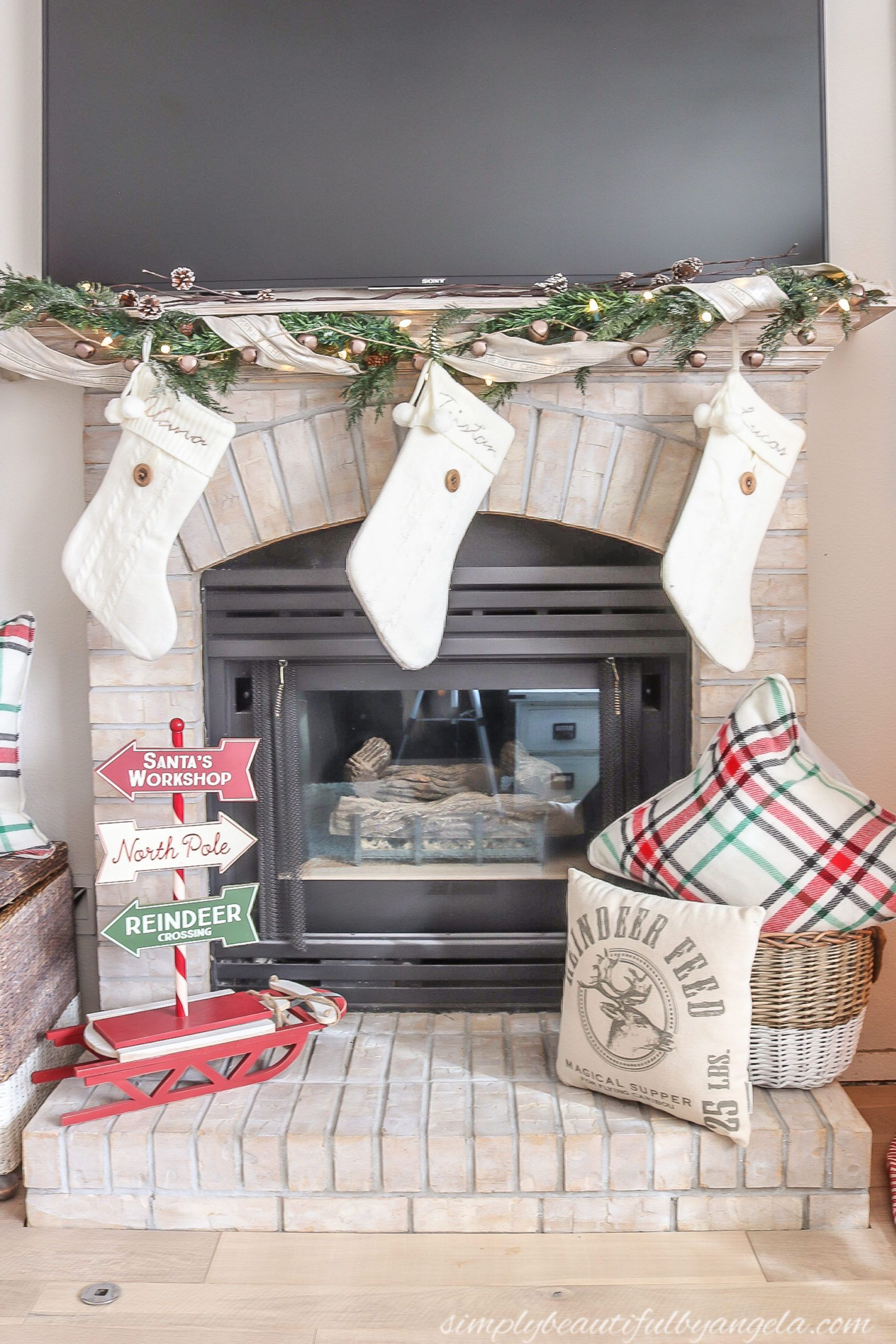 2019 Christmas Home Tour Part 2 | Simply Beautiful By Angela