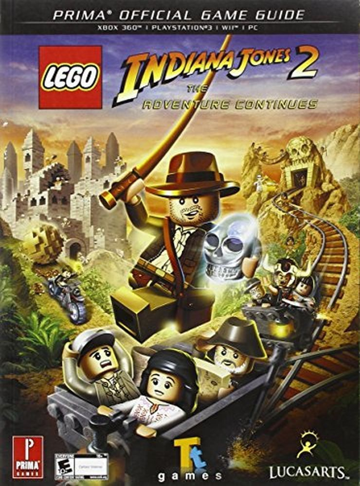 Lego indiana jones 2 the adventure continues prima official game lego indiana jones 2 the adventure continues prima official game guide pri ebay publicscrutiny Image collections