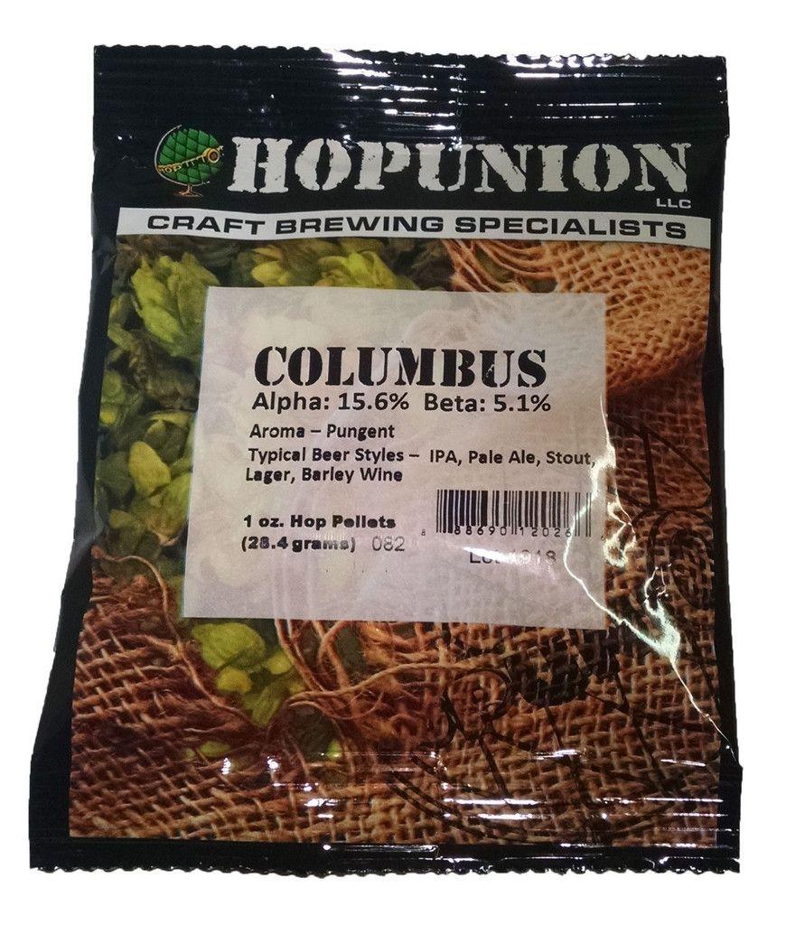 Columbus hop pellets for home brew beer making home