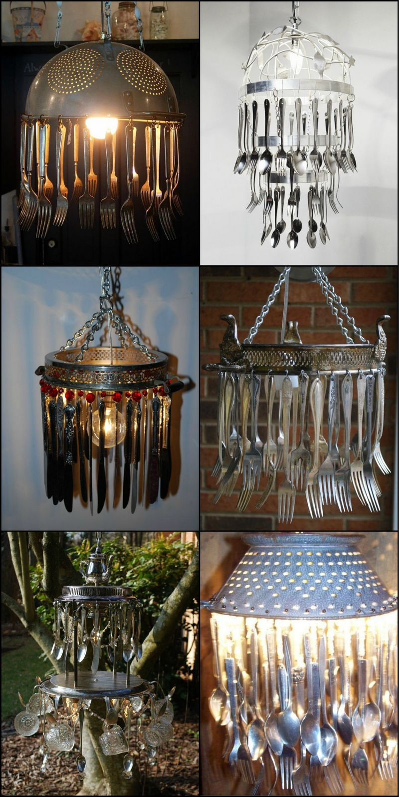 Original ideas on what to do with old kitchen utensils