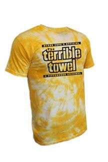 9d77a763e Show details for Pittsburgh Steelers Terrible Towel Gold Tie Dye T-Shirt