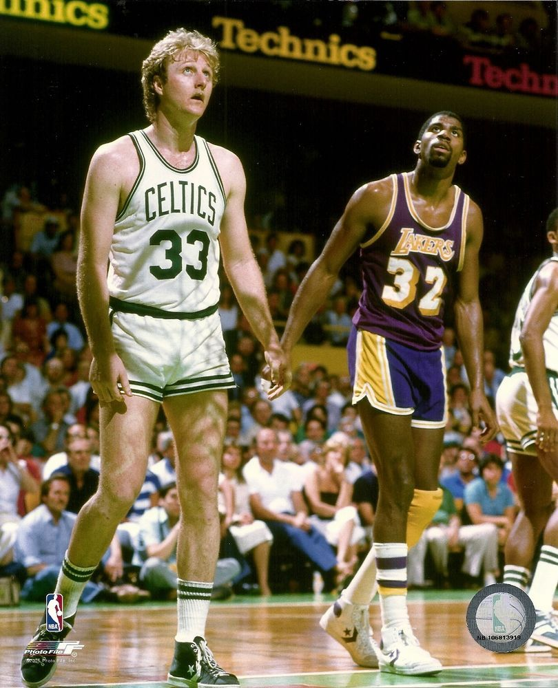 63cf046bda LARRY BIRD & MAGIC JOHNSON 8x10 Vintage NBA Action Photo CELTICS vs LAKERS  (HOF) #BostonCeltics
