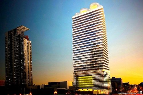 West Loop Newcomer Would Rise 31 Stories Feature Robotic Parking Chicago Real Estate Skyscraper Park