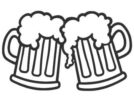 Pin By Shannon Zakes On Cricut Pics Beer Mug Clip Art Beer Drawing Beer Tattoos