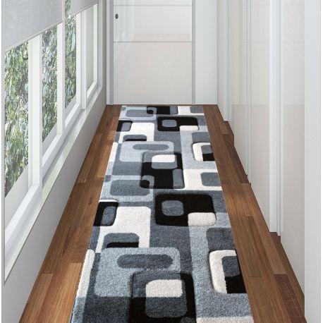 Alfombra pasillo tonos grises negro tauro decoraci n pinterest alfombras pasillo pasillos - Alfombras para pasillos largos ...