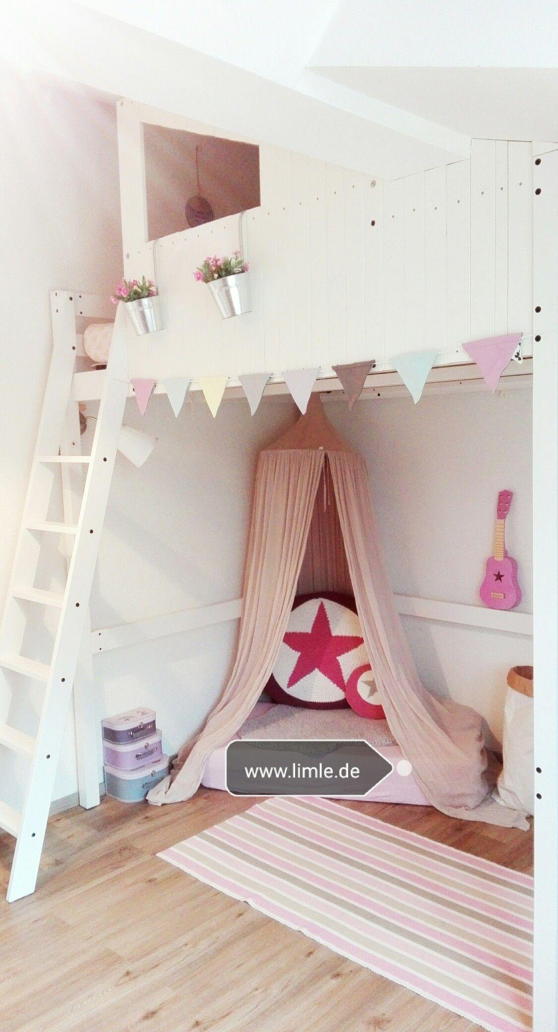 Ikeahack Diy Kinderzimmer Deko Kinder Mädchen Hochbett
