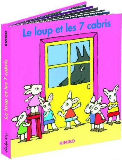 Le Loup Et Les Sept Cabris : cabris, LIVRES