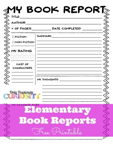 Book Review Template For Kids Tips Activities Go Science Girls Book Review Template Writing A Book Review Book Reviews For Kids