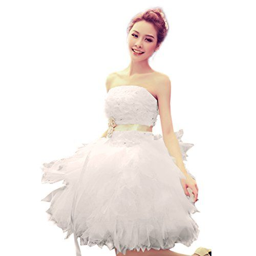 Damen Brautkleider Abendkleid Cocktailkleid Festkleid Ballkleid Maxikleid(38,White) Fashion Season http://www.amazon.de/dp/B00LIKR56I/ref=cm_sw_r_pi_dp_nbqVtb0MH1N0RT07