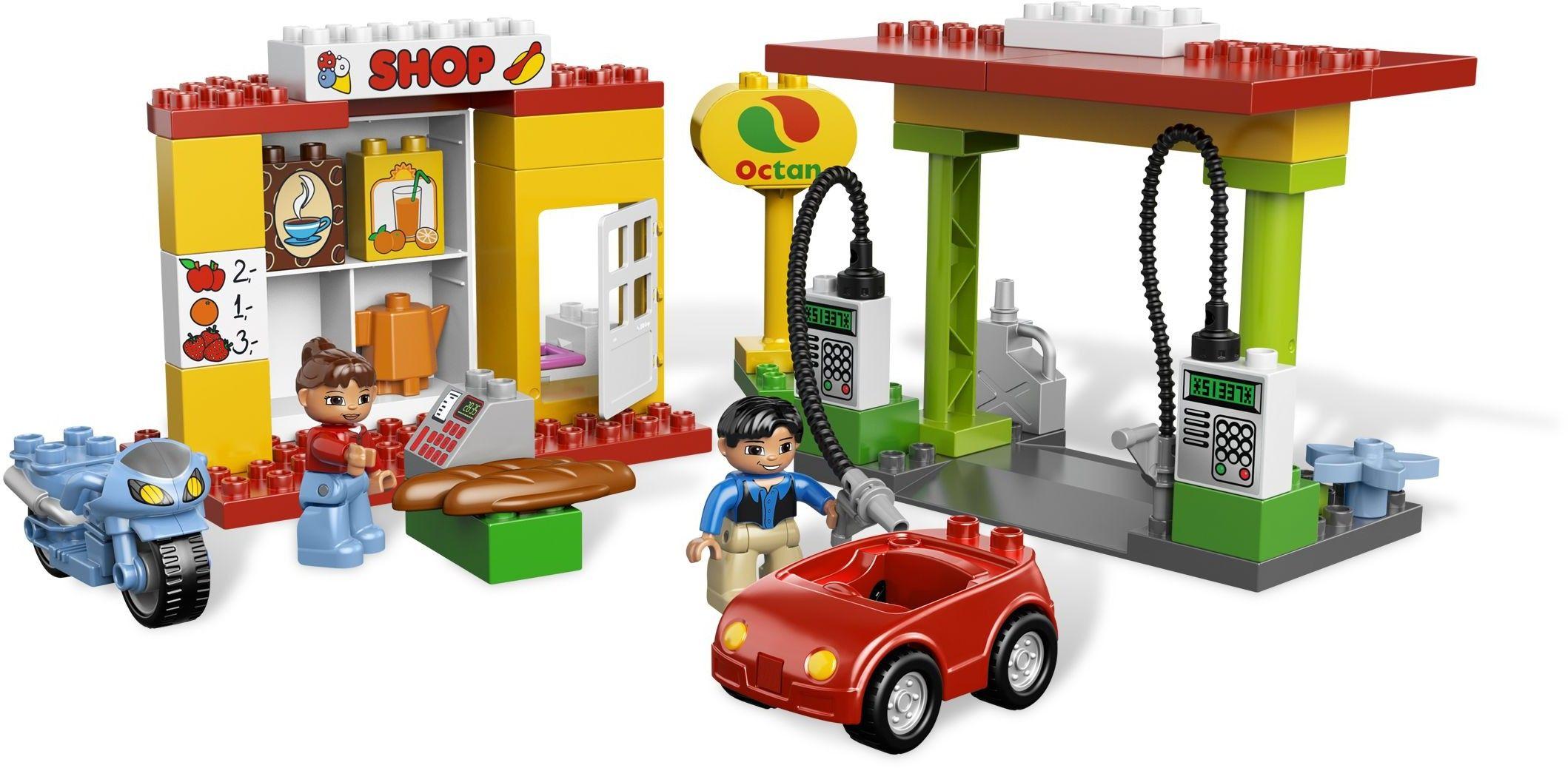 6171 1 Gas Station Gas Station Lego Duplo Lego