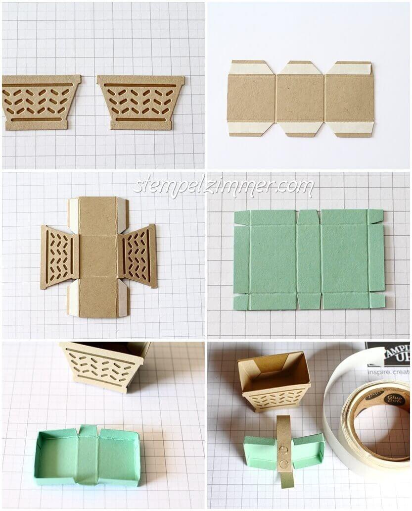 anleitung f r die kleinen picknick k rbchen coole ideen basteln mit papier anleitungen und. Black Bedroom Furniture Sets. Home Design Ideas