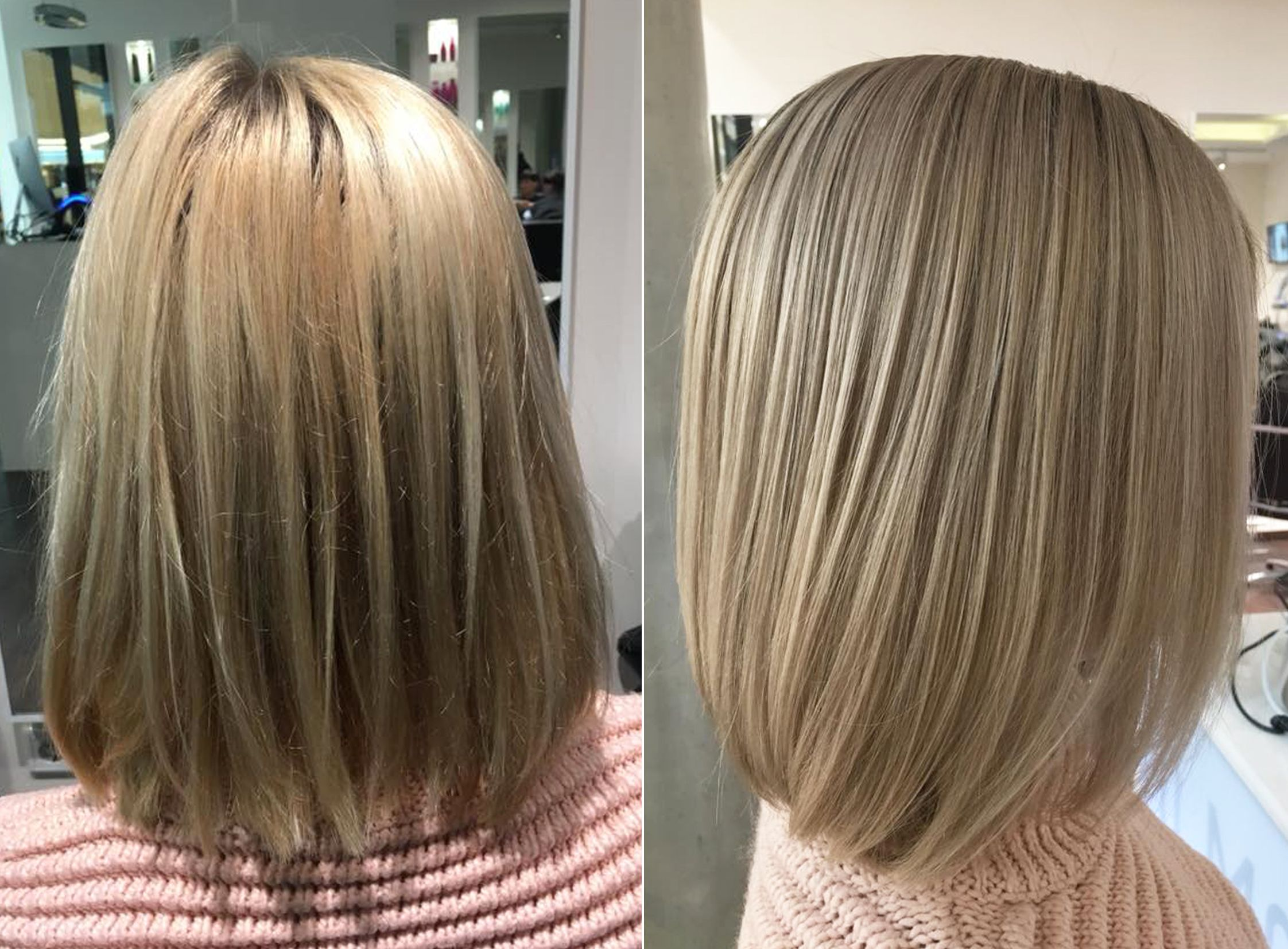 Long Bob Frisur Friseur D Machts Lounge Mall Of Berlin