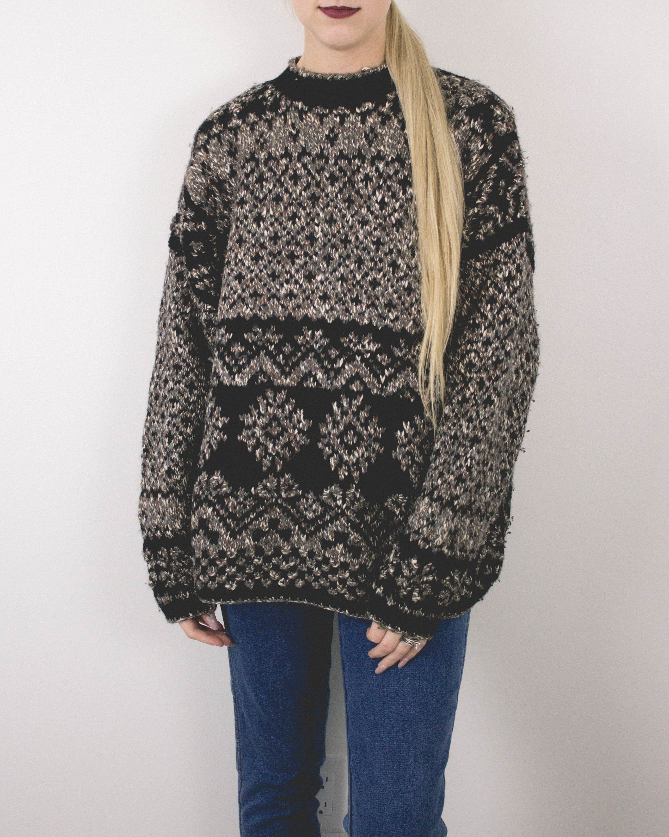 Vintage Marled Aztec Sweater | Products | Pinterest | Aztec ...