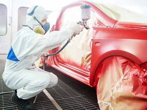 When You Need To Get A Portion Of Your Car Painted After An Accident The Biggest Concern Is Getting The Color Co Auto Body Repair Shops Car Painting Auto Body