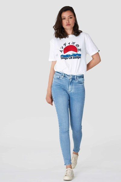 Kings Of Indigo Jeans Skinny Fit- Christina High
