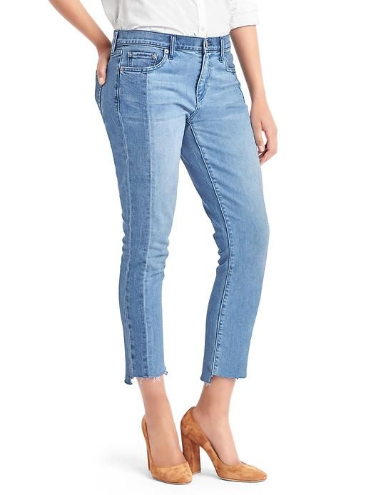 2a6e46e8124 1969 Two-Tone Best Girlfriend Jeans @gap #mockingbirdstation #backtoschool