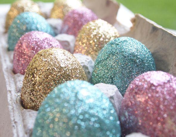 Znalezione obrazy dla zapytania glitter easter egg