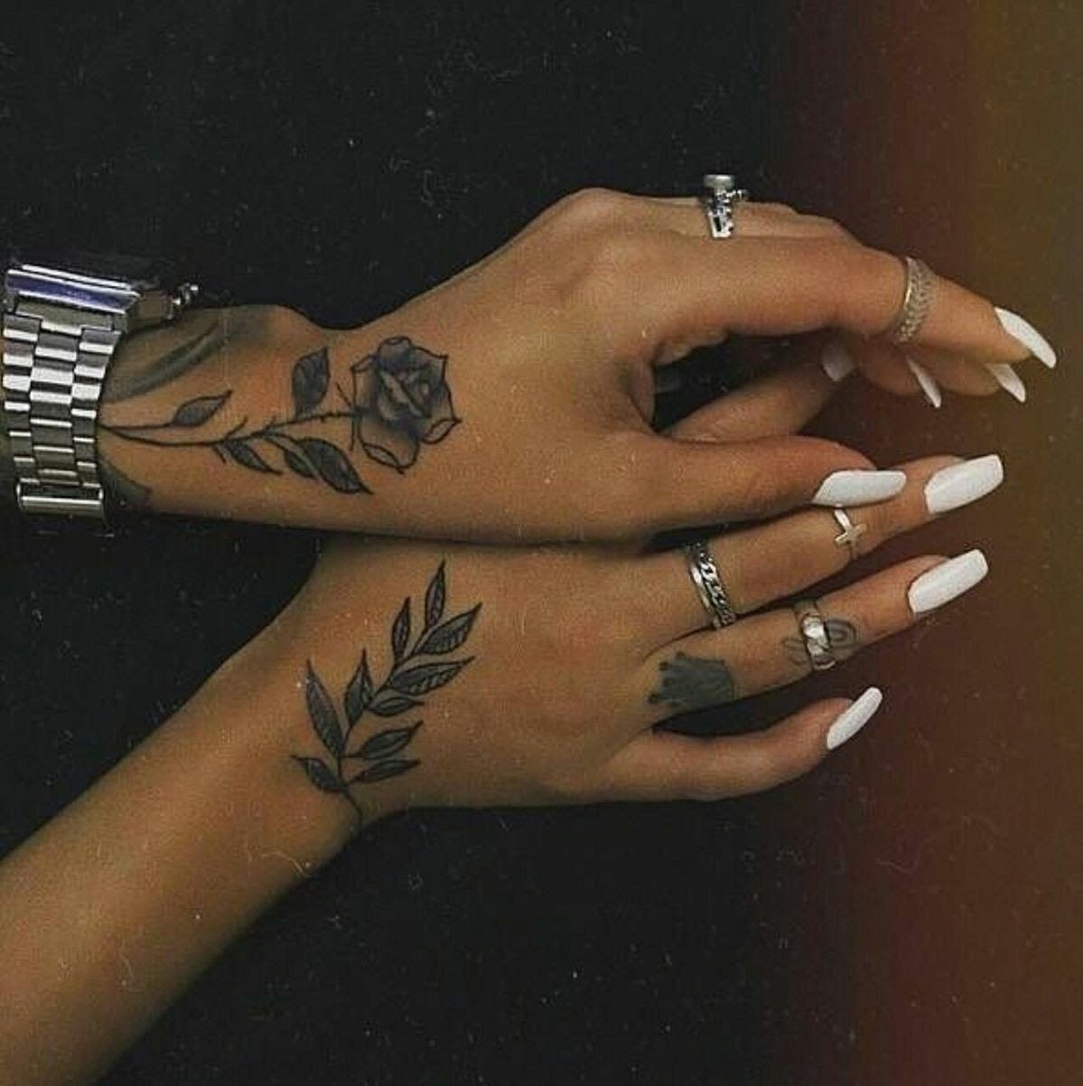 Pin By Mia Johns On Tattoo Ideas With Images Hand Tattoos