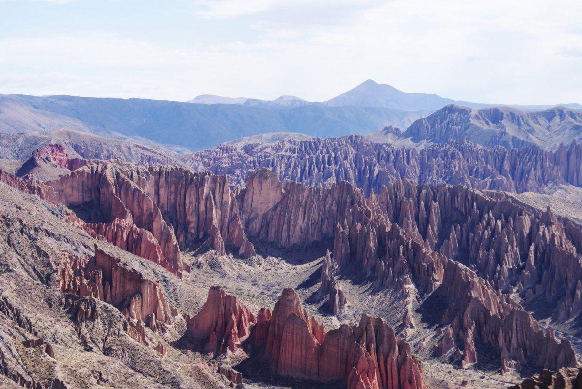 Quebrada de Palala Amazing Bolivia Landscape