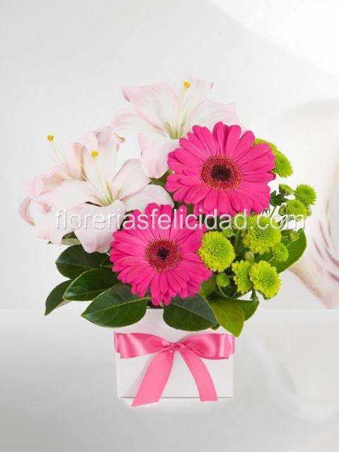 Flores a domicilio en Mexico DF Arreglos florales Pinterest - Arreglos Florales Bonitos