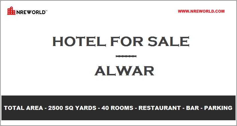 #Hotel 40 Rooms for Sale in Alwar - Rajasthan - India.  For Further more details kindly Email us at - nreworld@nreworld.com Visit our website - www.nreworld.com  #hotelforsale #Alwar #Rajasthan #Realestateinvestment #commercial #nreworld #hotelsale #hotelinvestment #hotelsandresorts
