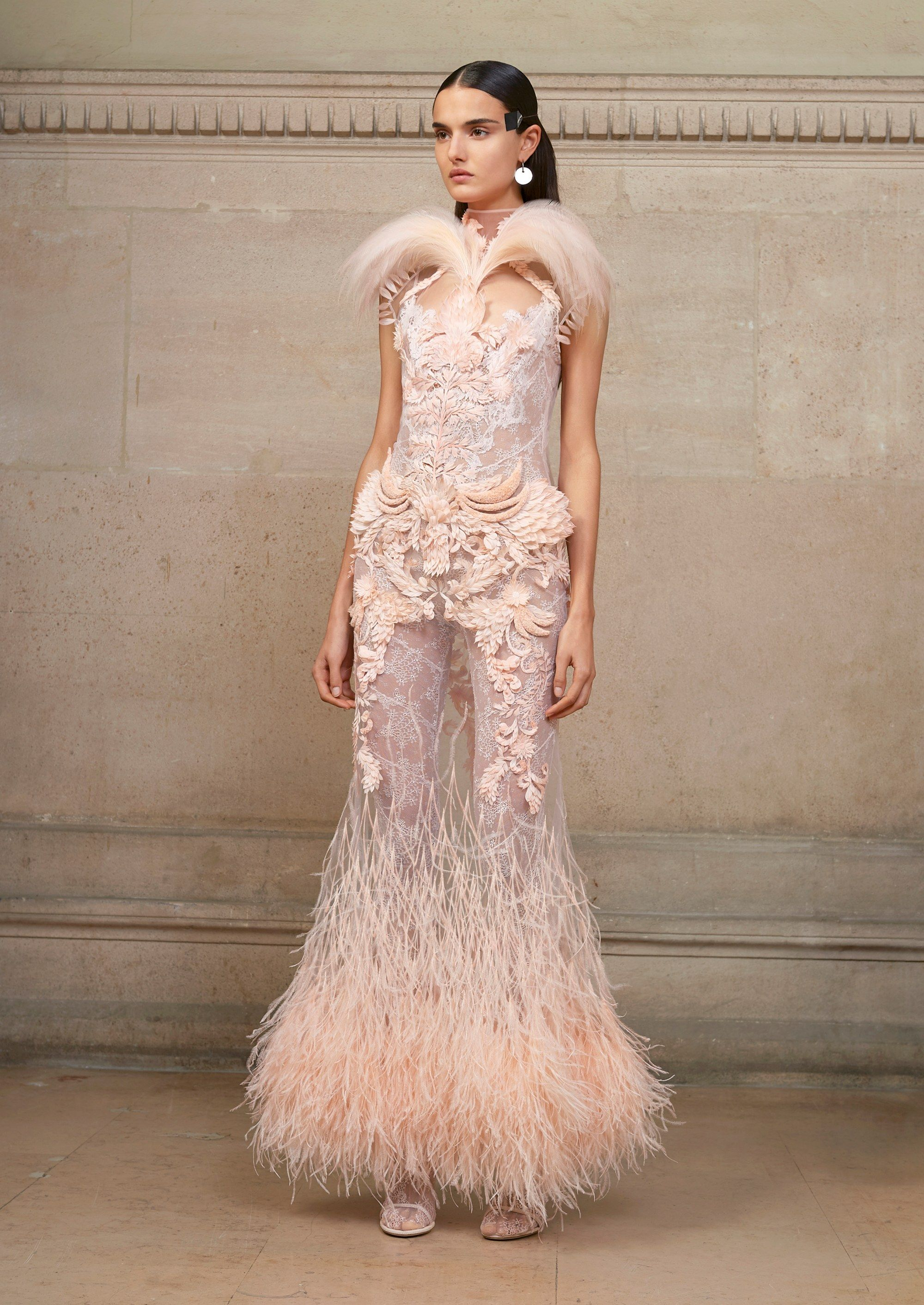 givenchy spring 2017 couture fashion show couture collection