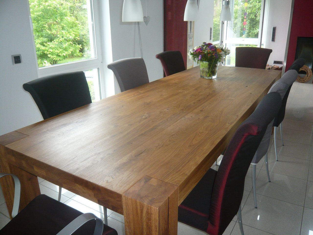 Tisch Bamaco Eiche Geolt 280 X 100 Cm Diy Esstisch Esstisch