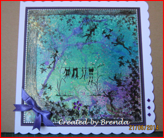Lavinia Stamps Challenge Email Entries : Brenda Smith - Challenge 6 June