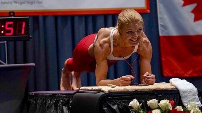 Vegan Athlete Breaks Women's World Record For Longest Plank - Vegan News, Plant Based Living, Food, Health & more #athletefood