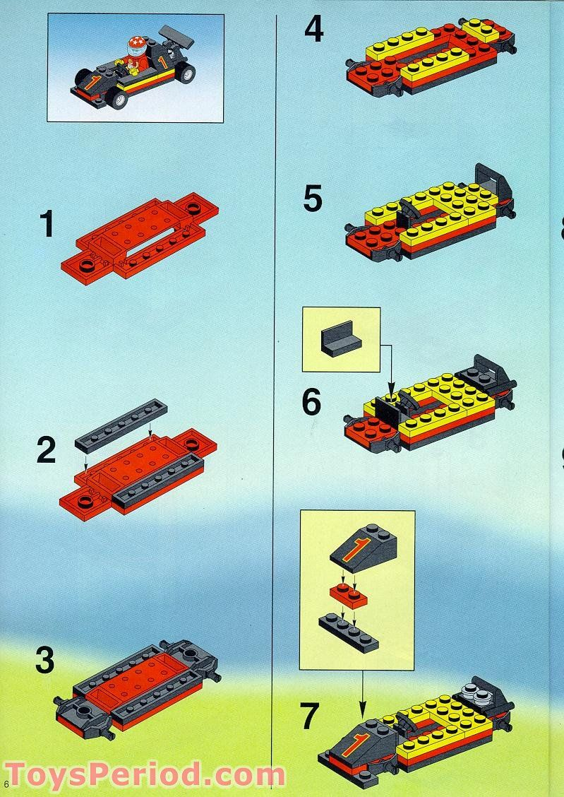 Car Instructions Lego Carsjp