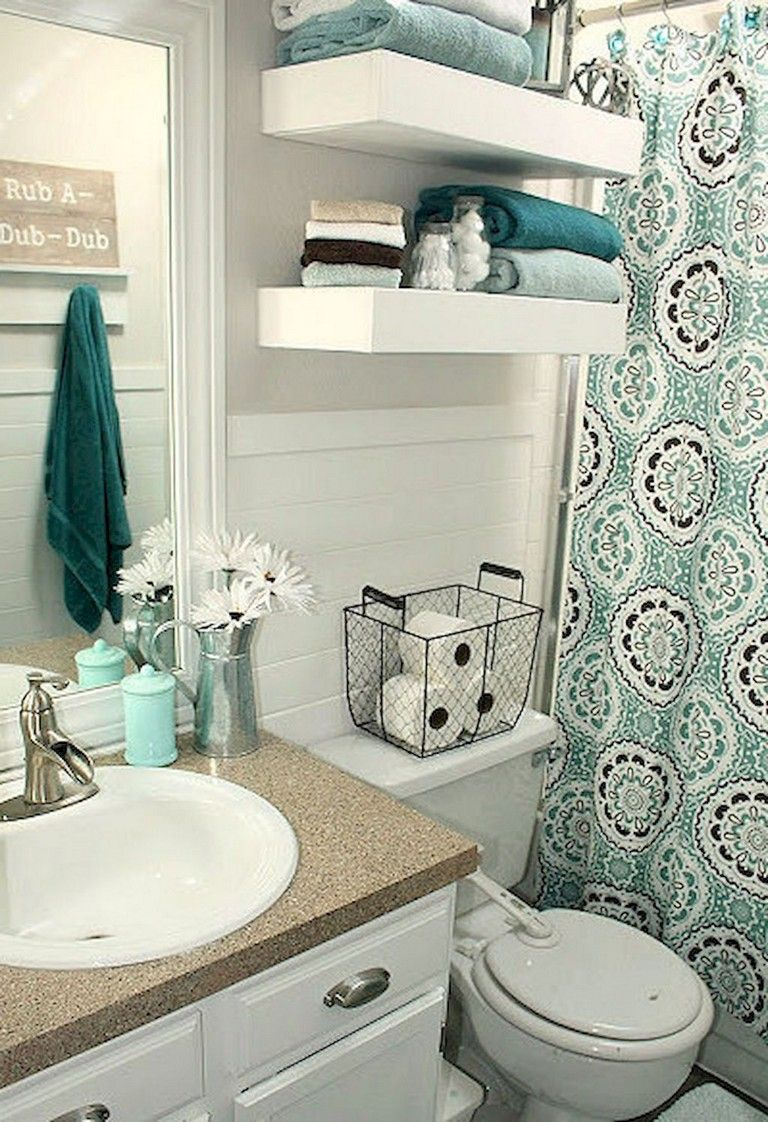 84+ Small Apartment Bathroom Decoration Ideas