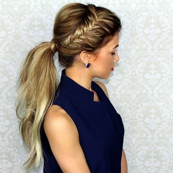 Time Saving Pony Tail Hairstyles For Working Women 34 Ponytail Hairstyles Easy Hair Styles Messy Ponytail Hairstyles